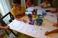 Cèl·lula, dibuix, taller