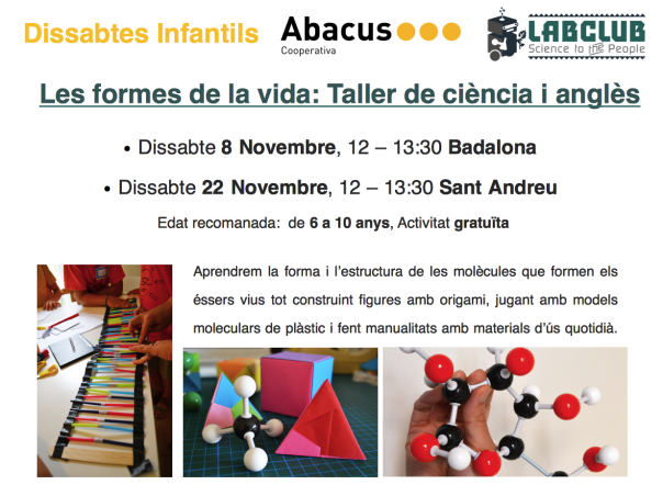 Tallers LABCLUB a Abacus