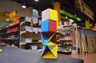 sòlids platònics, octaedres, cubs, colors