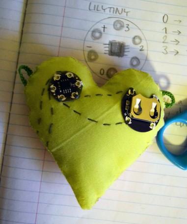LilyTiny, LilyPad LED, twinkle, badalona