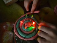 "Circuits elèctrics amb ""Squishy Circuits"""