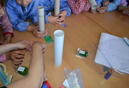 Taller de construcció de calidoscopis