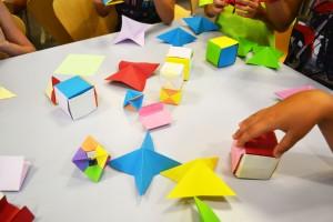 Sòlids platònics amb Origami - Ametlla del Vallès