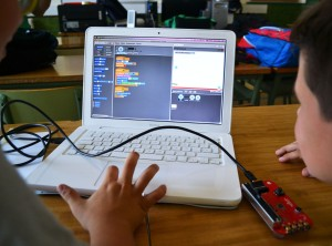 Programació jocs Scratch Picoboard extraescolars