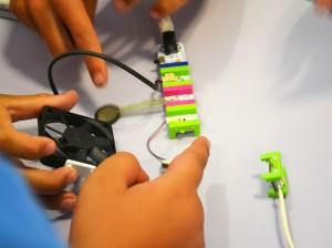 Circuits amb littleBits taller Ametlla del Vallès