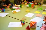 Taller construcció políedres Origami
