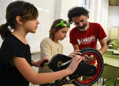 Centrífuga bicicleta Tallers extraescolars