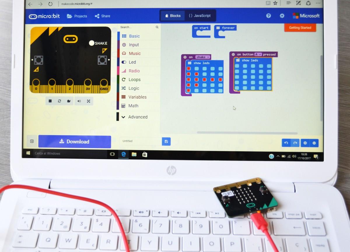 Micro:bit Tallers Extraescolars Programació