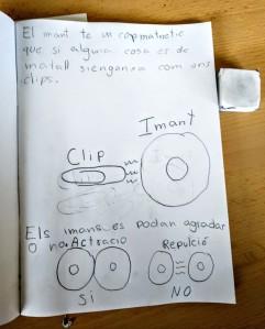 Tallers Extraescolars Ciència Barcelona Magnetisme