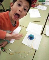 Taller Electròlisi Ciència Extraescolars