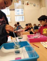 Tallers Extraescolars Química pH àcid base Barcelona