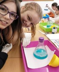 Tallers Extraescolars Química peròxid hidrogen Barcelona