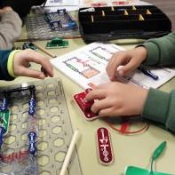 Taller extraescolar circuits elèctrics Snap Circuits STEM